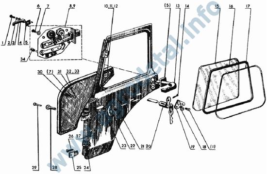 Генератор Г 306 трактора МТЗ 82 и его схема :: Трактор.